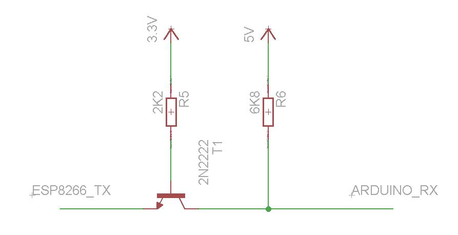 Esp8266 Wifi Module And 5v Arduino Connection