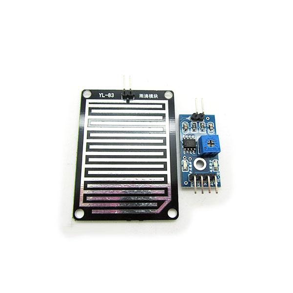 ESP8266 WiFi water leak (rain, soil moisture) sensor