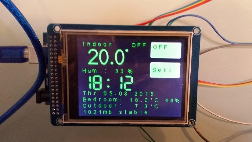 Thermostat W Wifi Esp8266