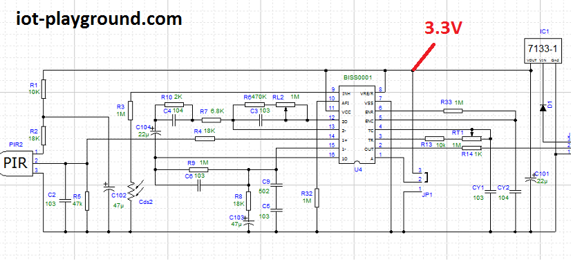 The Jeronimus Blog Esp8266 And Pir Sensor 2