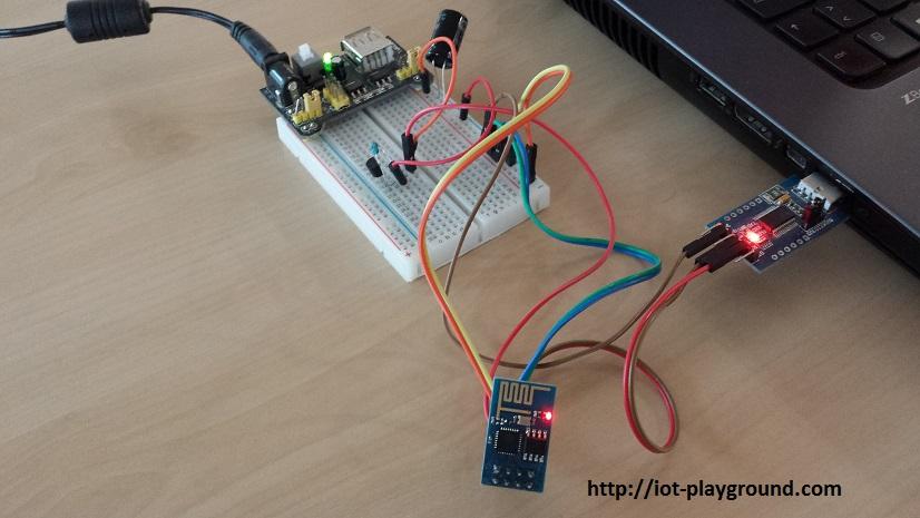 ESP8266 DS18B20 connections