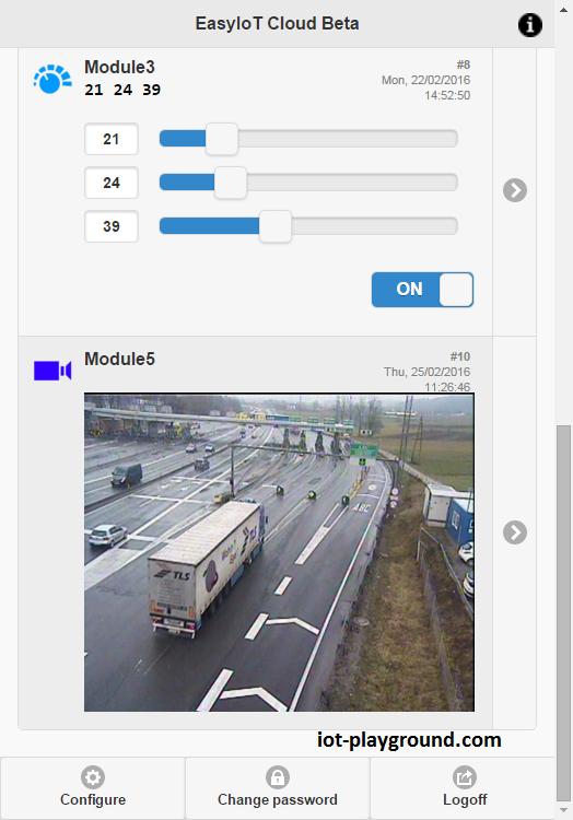 EasyIoT Cloud camera module